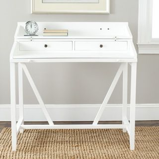 Shop for Safavieh Wyatt White Writing Desk. Get free shipping at Overstock.com - Your Online Furniture Outlet Store! Get 5% in rewards with Club O!