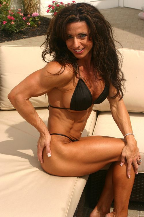 For pics of female body builders big boobs opinion