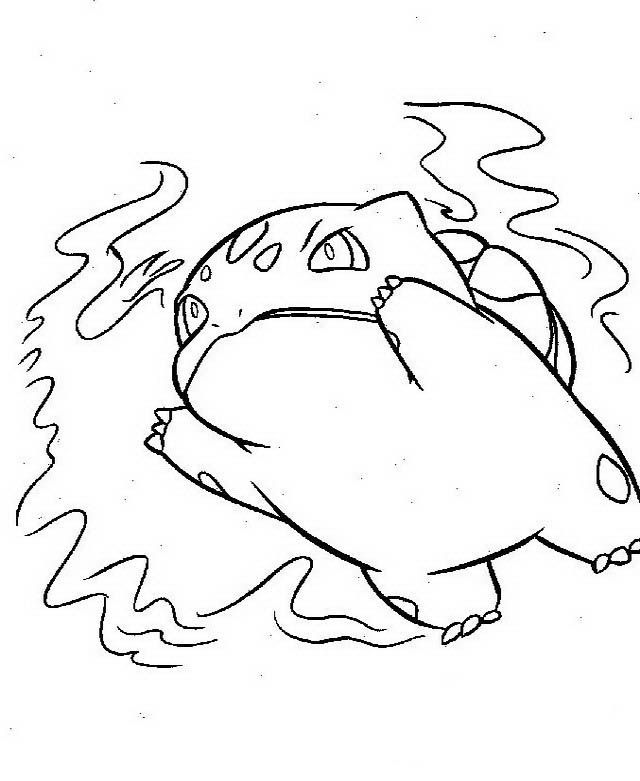 Dibujos para Colorear Pokemon 84