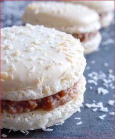 Macarons chocolat coco façon Bounty - Perle en sucre
