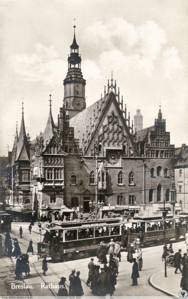 Rathaus Breslau (1921-1927)