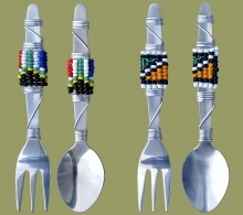 african-corporate-gifts-beaded-cutlery