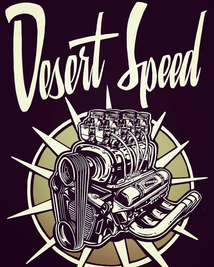 """229 curtidas, 9 comentários - Andrew Smith (@smithskustoms) no Instagram: """"New logo for @desertspeedbuick. If you are into Buick Nailheads you need to get over and check it…"""""""
