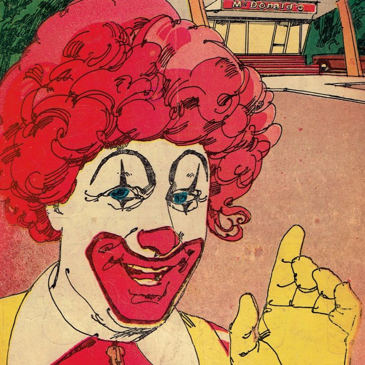 1971 Ronald McDonald Promotional Give Away Advertising Comic Book lot #269 by UpOnHill61 on Etsy