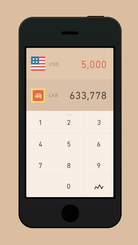Currency - Minimalist iPhone currency converter inspired by swipe-based interfaces