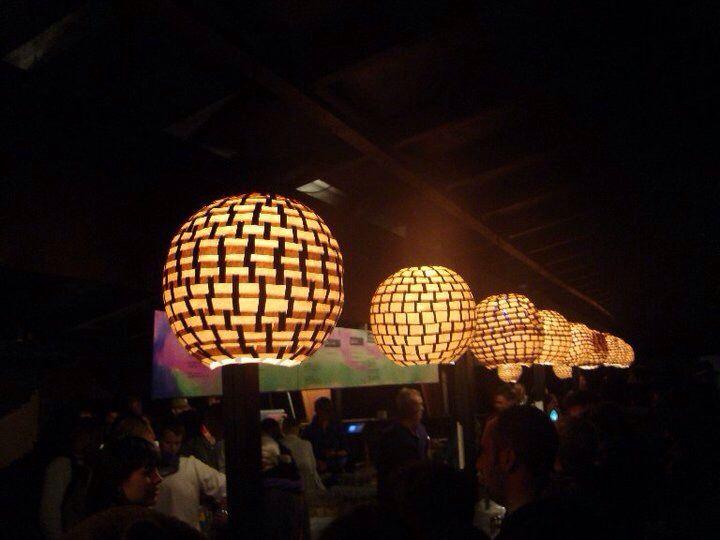 Love Light project / Lamp design for Roskilde Festival 2010, Rabarbar