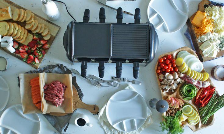 Raclette Food Options