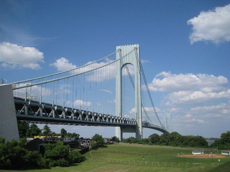 Verrazano-Narrows Bridge - Brooklyn, Staten Island, New York