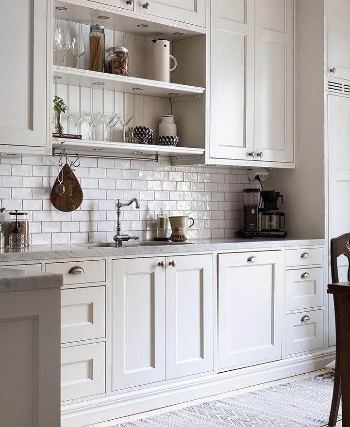 Bildresultat För Stänkskydd Mässing Cabinets To Go Kitchen That The Ceiling