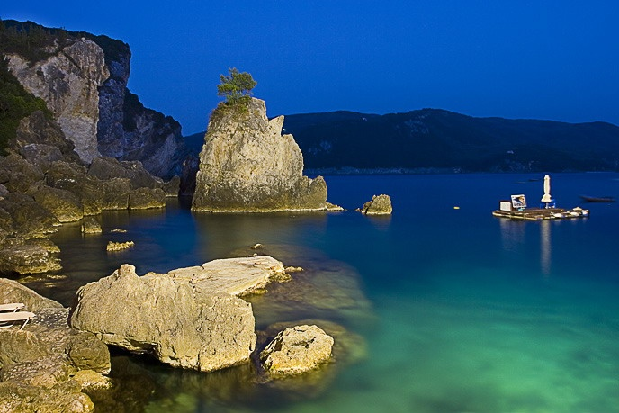 Paleocastritsa, Corfu. Don't you just love Greece.