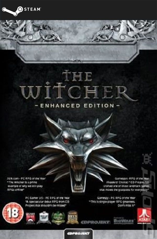 The Witcher: Enhanced Edition Director's Cut (STEAM GIFT) DIGITAL 3,15€