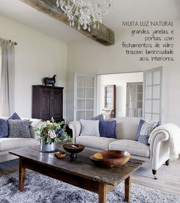 A Rustic Living Room And With Natural Light. Part 61