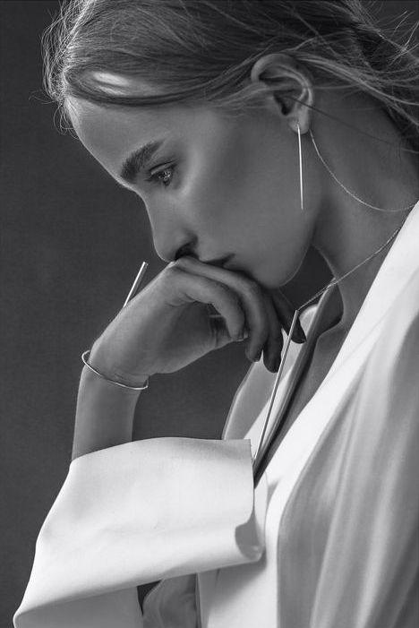 Contemplative jewellery editorial photograph. @intentjewellery : Jewellery Editorials