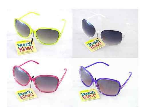 Style Science Beach Blast! Women's Over Sized Summer Sunglasses -- Choose Color! $7.95