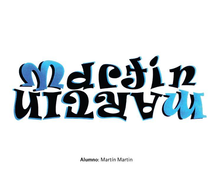 Tipografía 1. Cátedra Catopodis. Adjunta: DG Hebe Corvi. JTP: DG Laura Villagrán. Primer cuatrimestre, 2013. Ejercicio sobre logotipo. Alumno: Martín Martin.
