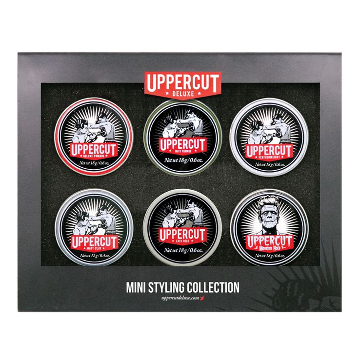 Uppercut Deluxe Mini Pomade Styling Collection