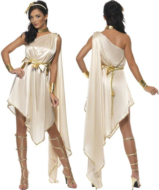 086c6997592 Artemis goddess costume. Toga Party.