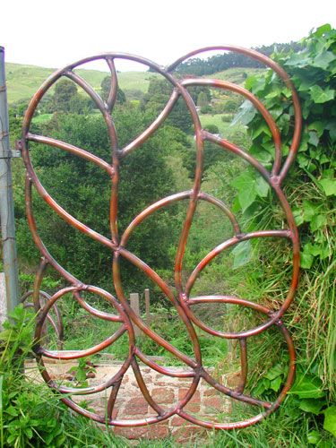 copper pipe garden gate - Google Search