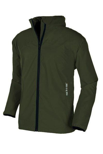 Adult Lightweight Rain Jacket: Khaki