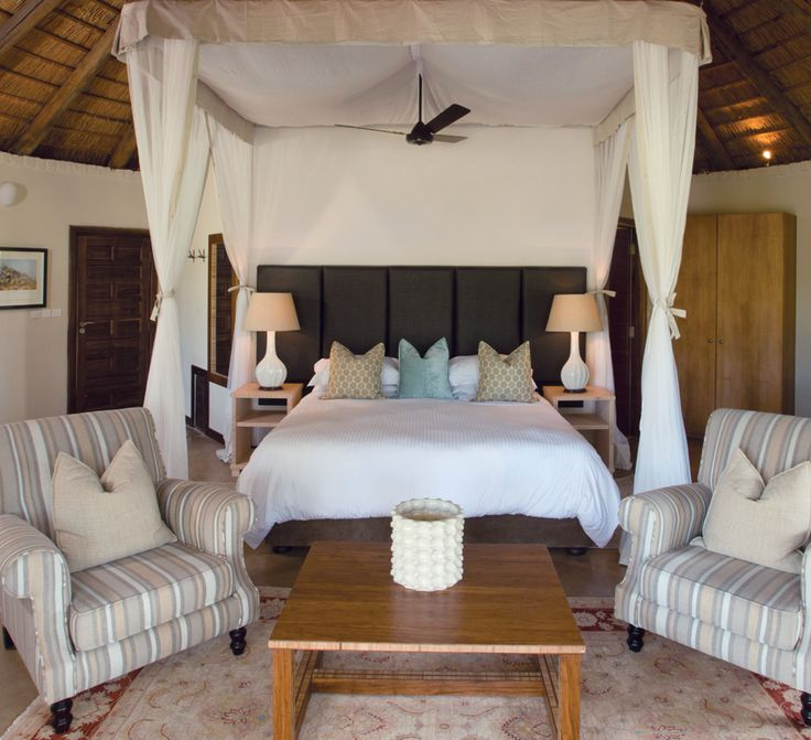 The Delux chalets sleep two people comfortably, with each unit consisting of  an open plan, en suite bedroom with a lovely furnished lounge