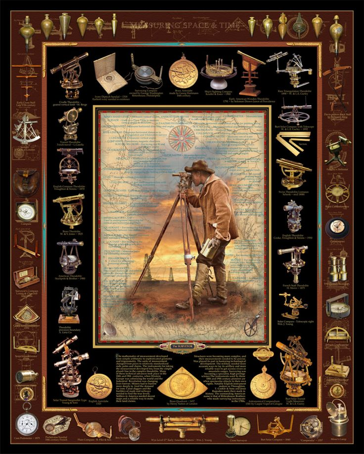 The Surveyor 24×30 Limited Edition With Certificate Of