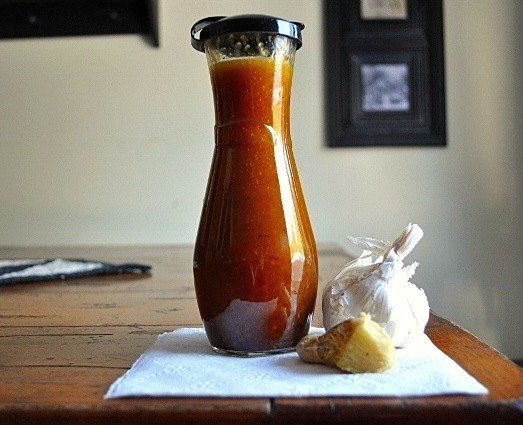 Заправка для салата с бальзамическим уксусом