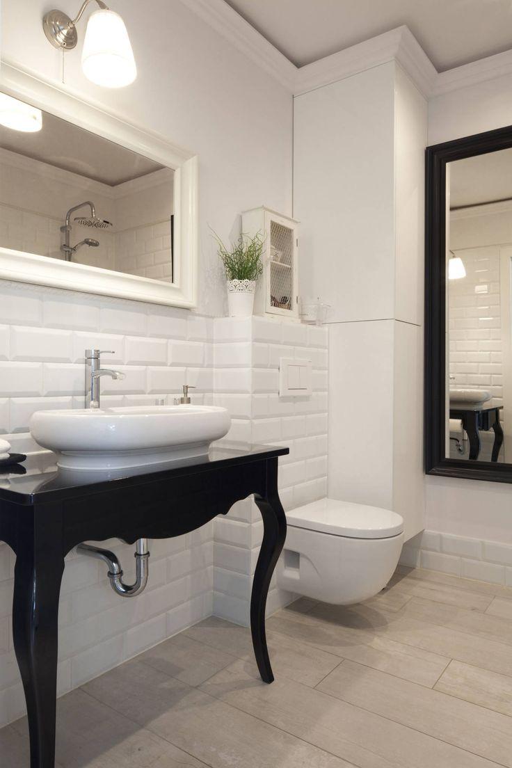 wnętrza : Skandynawska łazienka od wnętrzności