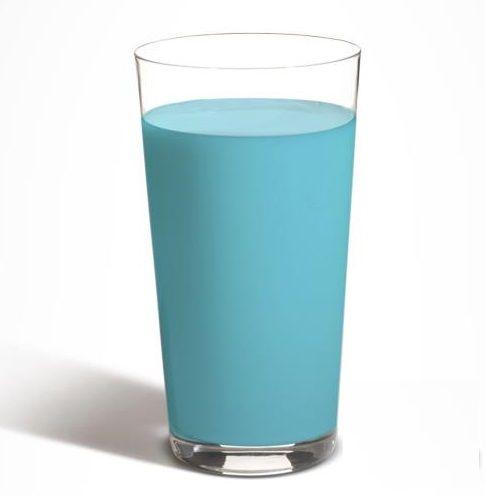 Star Wars Blue Milk recipe inspired by Star Wars