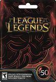 Riot - League of Legends Game Card ($50) - Black, RIOT LEAGUE OF LEGENDS $50