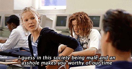 En esta sociedad el ser un gilipollas le da derecho a uno a hacernos perder el tiempo.