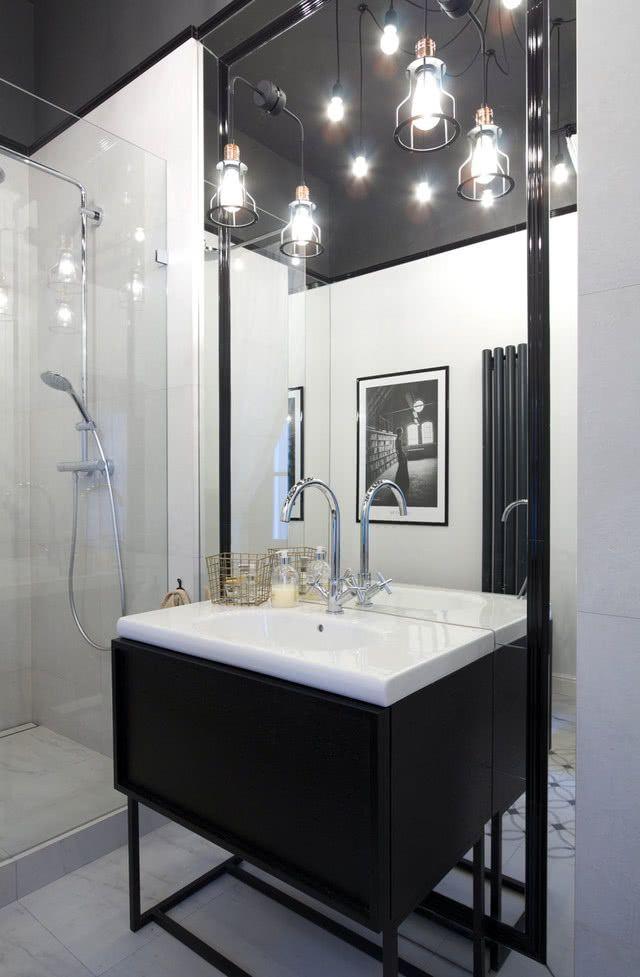 Czarno Biała łazienka Wwwczasnawnetrzepl W 2019