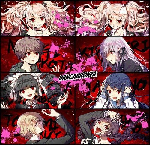 grafika anime, hope, and blood