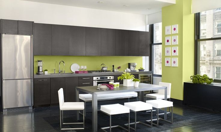 brown-and-green-kitchen