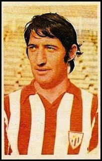 Madariaga. Athletic Club de Bilbao. Cromos Ruiz Romero. Temporada 1976-77.