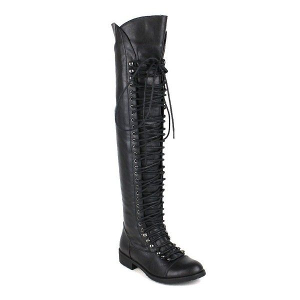 9d742466a2cb Women's Shoes, Boots, Over-the-Knee, Travis 05 Women Military Lace Up Thigh  High Combat Boot - Black - C6123IP899T #fashion #style #shoes #ootd ...