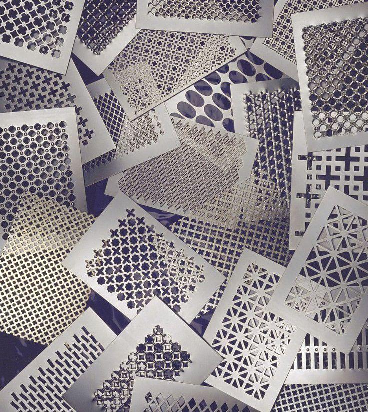 Tôle perforée / ouvragée / décorative / en métal - DECORATIF - RMIG