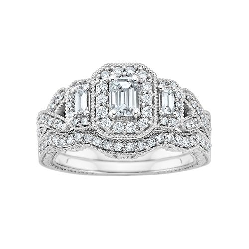 Perfect what i should have gotten in another life Fred Meyer Jewelers ct tw Diamond Wedding SetsWedding Ring
