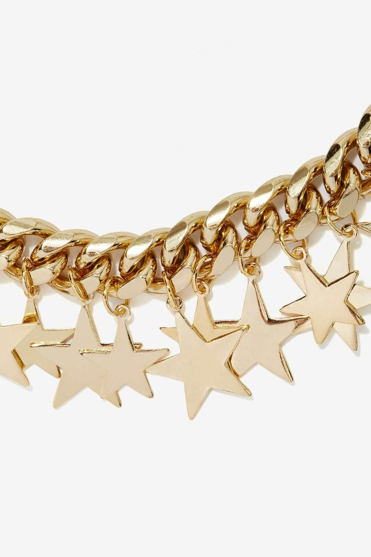 Star-Crossed Chain Necklace