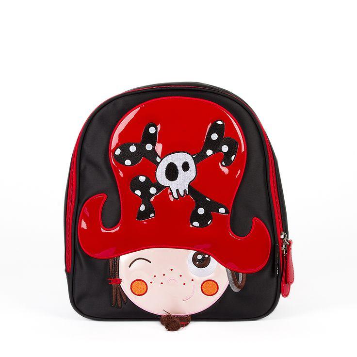 Mochila The Pirates Boy Kid. La mochila del pirata Barbanegra, ideal para el cole. #ThePirates