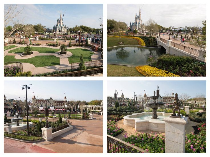 New parade and fireworks viewing areas between Main Street U.S.A. and Cinderella Castle are now open at Magic Kingdom Park! This marks the first milestone in a multi-phase project that includes the addition of sculpted gardens, new pathways and expanded restaurant seating.