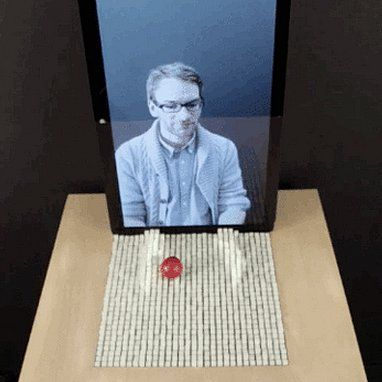 Mind = BLOWN. A new invention lets you interact with physical things REMOTELY.