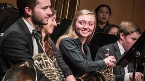 Groupon - Santa Clara University Wind Symphony - Thursday November 16, 2017 / 7:30pm in The Old Quad. Groupon deal price: $13.75