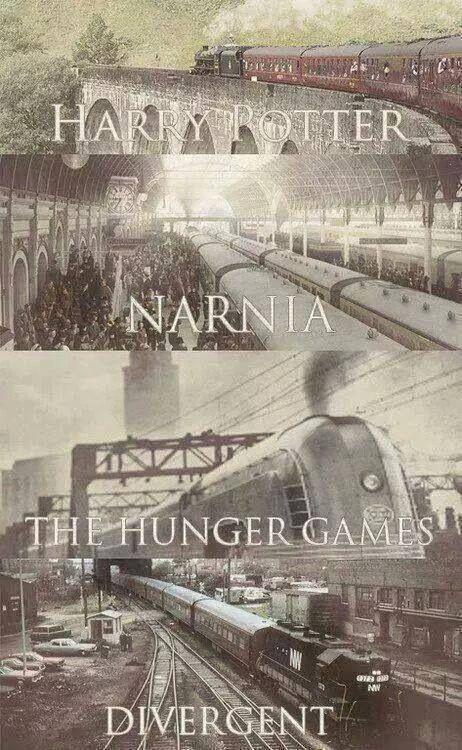 Every good series has a train.  Haha!
