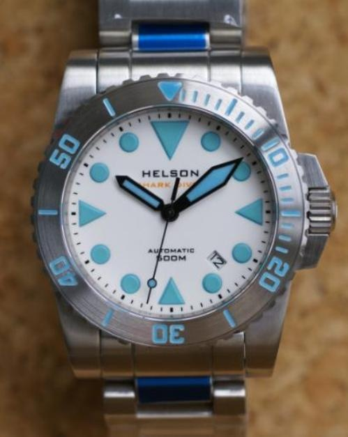 Underwater Wednesday is a series that explores a perennial favourite amongst mens watches, the diver. And watch forum favourite Helson is an 'in the know' brand which offers excellent quality at a realistic price.