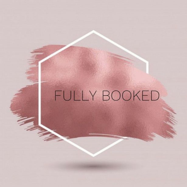 fully booked out nail salon hair salon
