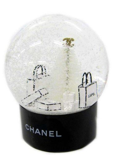 Snow Globes for Sale Chanel Chanel Cute Snow Dome VIP | eBay