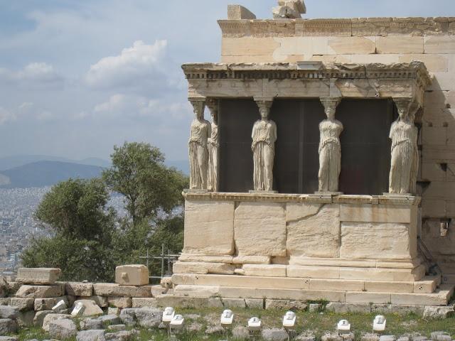 At the Acropolis, Athens