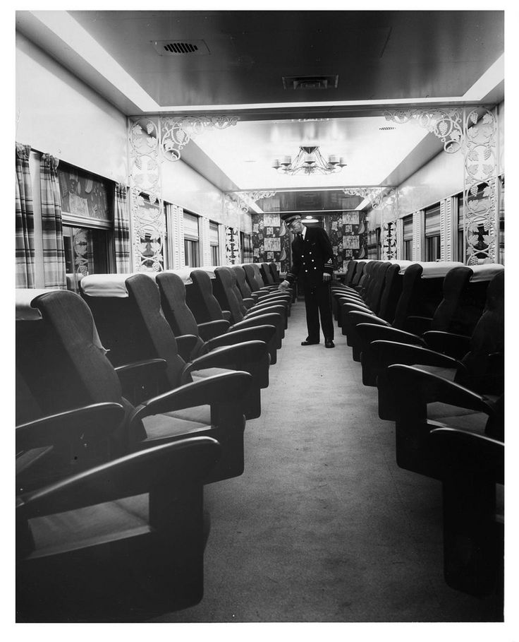 """A picture of a """"Mardi Gras"""" parlor car of the Panama"""