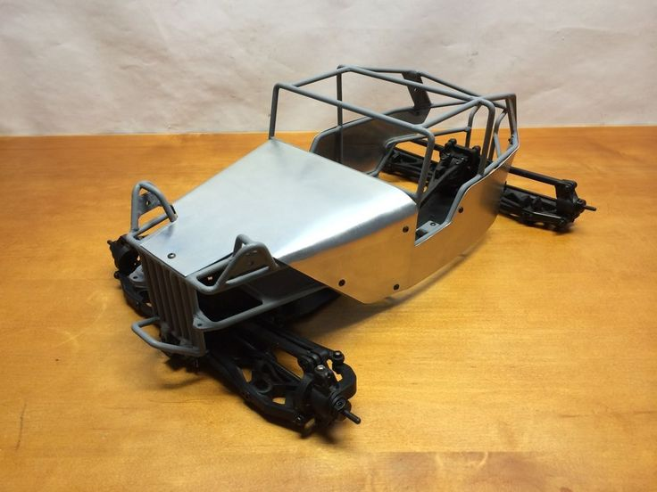 Axial EXO Terra Buggy Chassis With Custom RC Tube-Cage AX90024 AX90015 RC4WD #AxialRacing