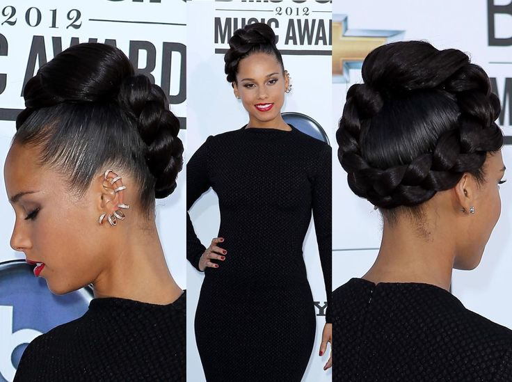 alicia keys billboard award braid | The Kinky Chronicle: Natural Hair Icon: Alicia Keys